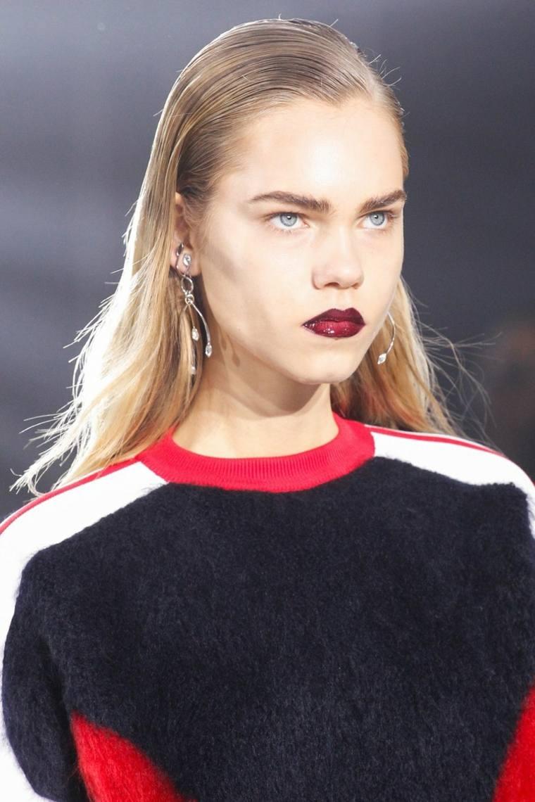cortes de pelo de moda otono 2016 pasarela Louis Vuitton ideas