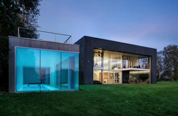 cristales muebles interiores casas barras
