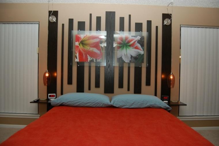 Cabeceros para camas muy originales - Cuadros cabecero cama ...