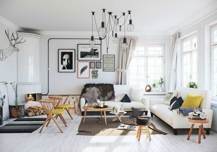 decoración estilo escandinavo moderno