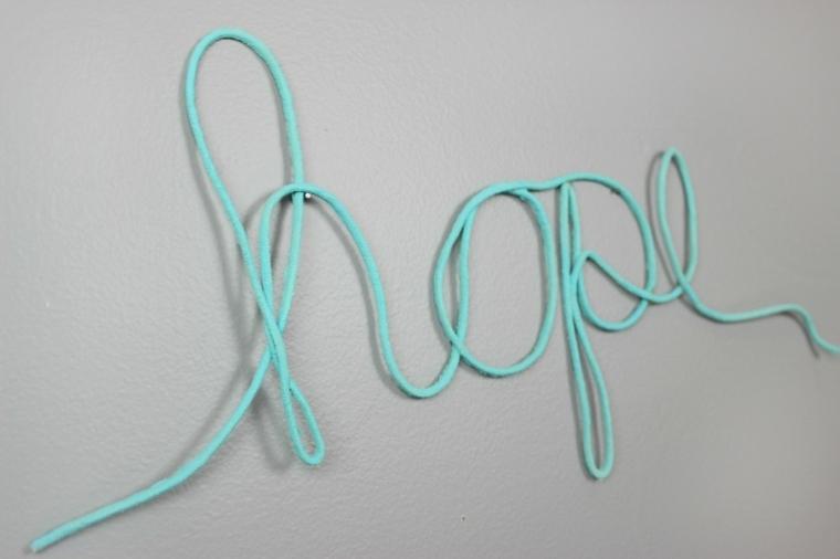 decorar paredes palabras cuerdas