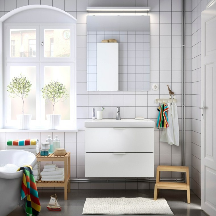 Baño Estilo Escandinavo:Estilo escandinavo – 24 ideas inspiradoras para interiores -