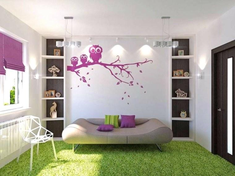 decoración de dormitorios juveniles para mujeres