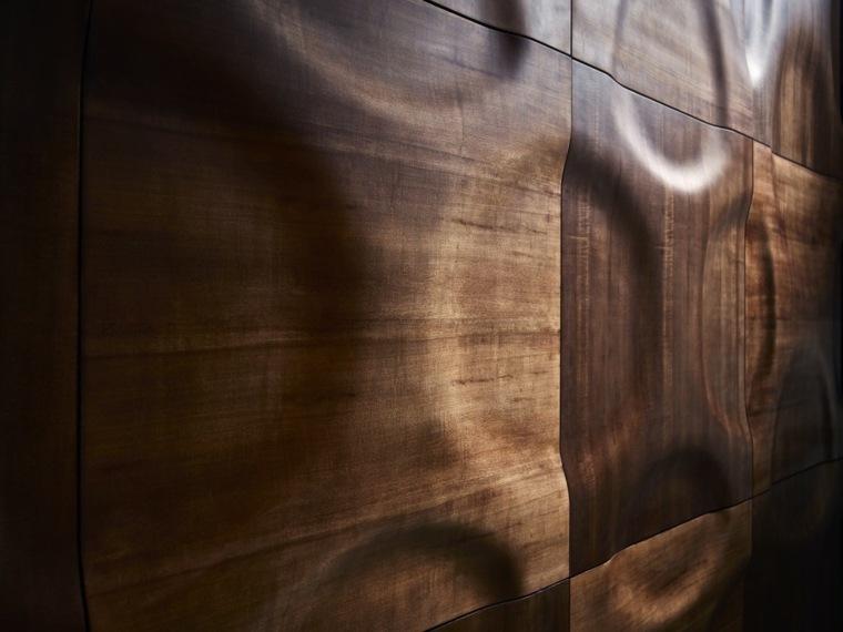 decoracion de paredes 3D agujeros pared losas ideas