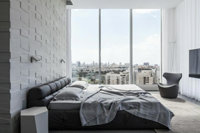 decoracion de paredes 3D dormitorio pitsou kedem ideas