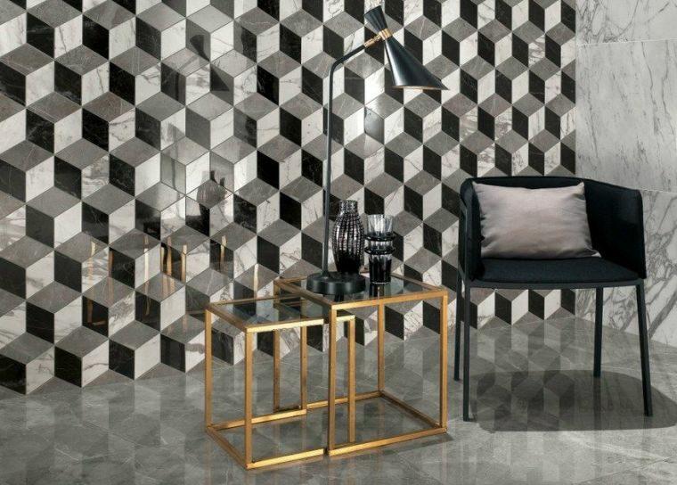 Decoraci n de paredes ideas de paneles y losas 3d for Paredes en 3d decoracion
