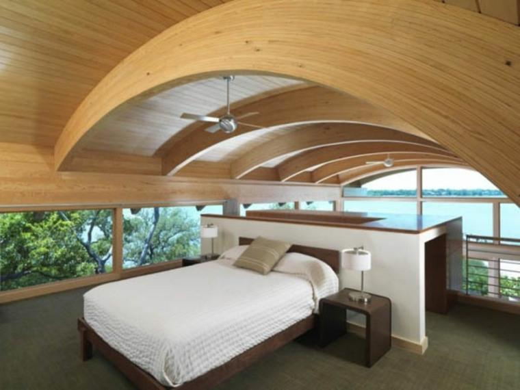 decoración de techos curvados