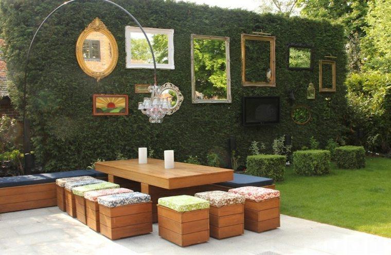 decoracion espejos cuadros muros muebles