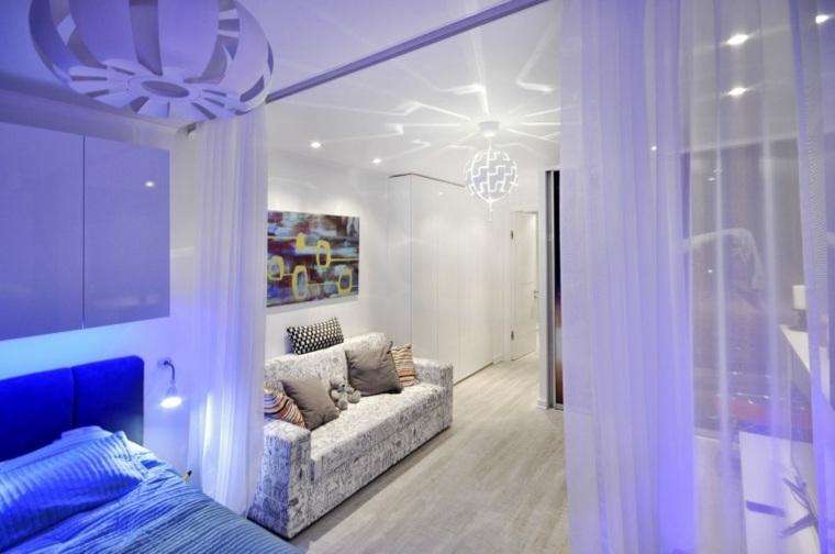 decoracion estilo futurista habitacion infantil