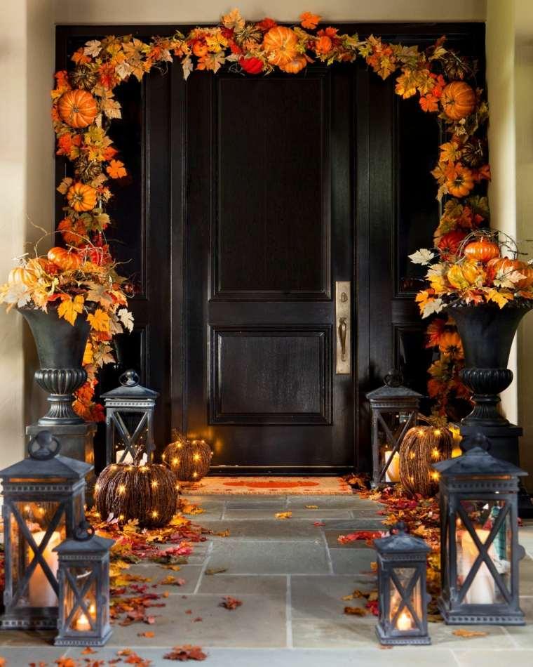 Decoraci n para halloween para nuestra casa for Decoracion de la puerta de entrada