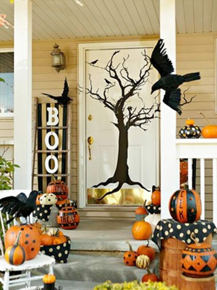 Decoración para halloween para nuestra casa -