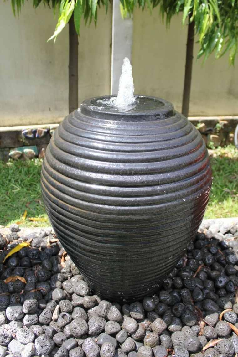 decoración para jardines fuente
