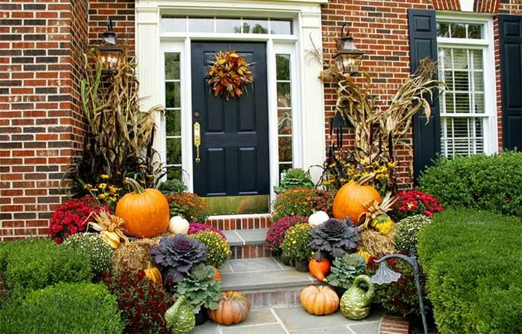 decoraciones otoñales interior y exterior
