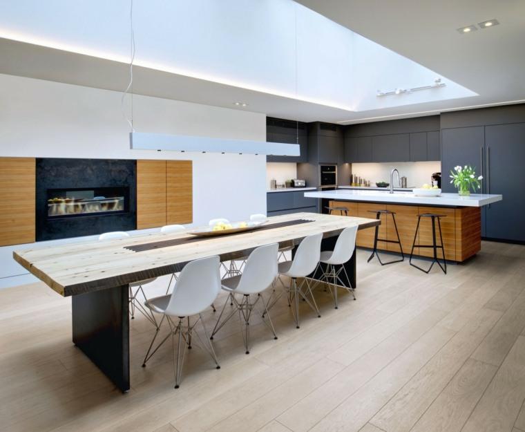 decorar casa espacio disenado Roundabout Studio cocina ideas