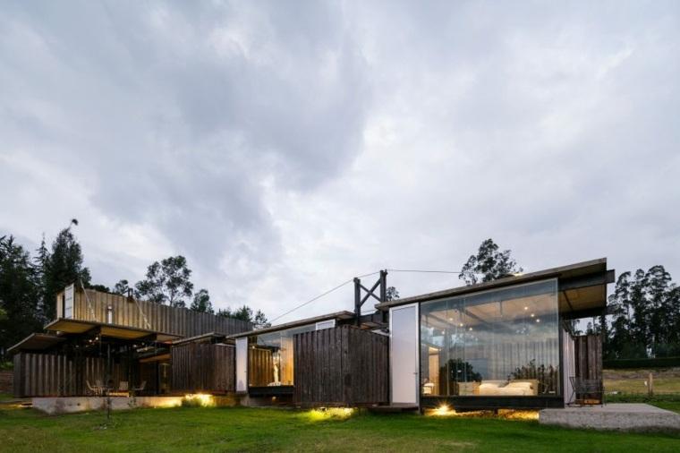 dieno original jardin casa moderna