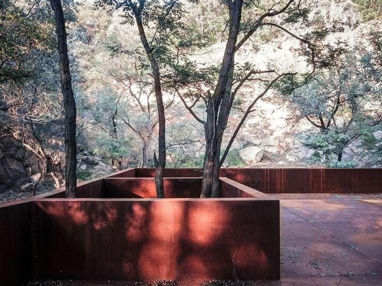 diseño muebles solor acero suelos