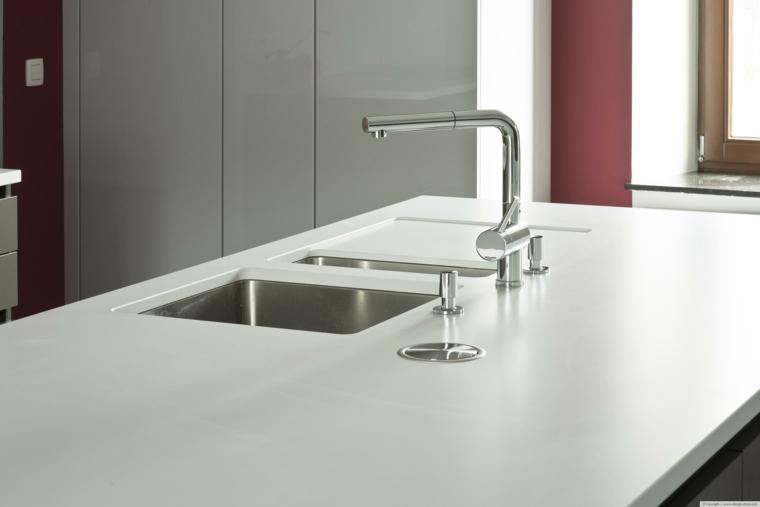 diseños modernos superficies cocina