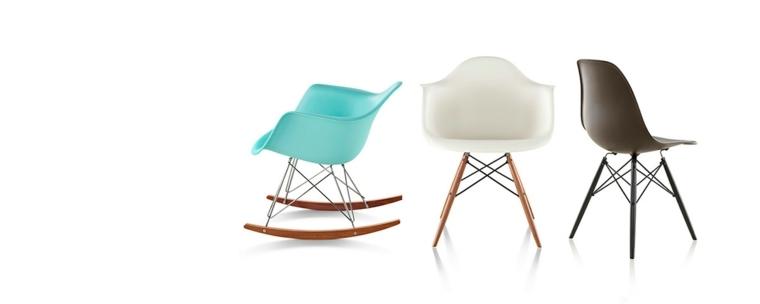 diseños sillas Eames modernas