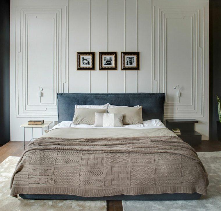 diseño habitación cama grande