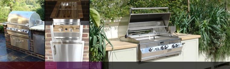 Barbacoas y muebles de cocina para el jard n 34 ideas - Barbacoas para jardin ...