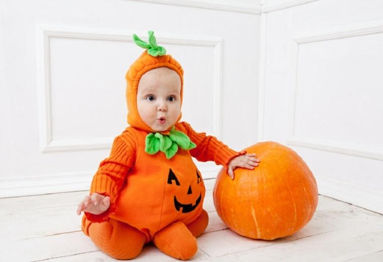 Disfraces para beb s para halloween - Disfraces halloween calabaza para ninos ...
