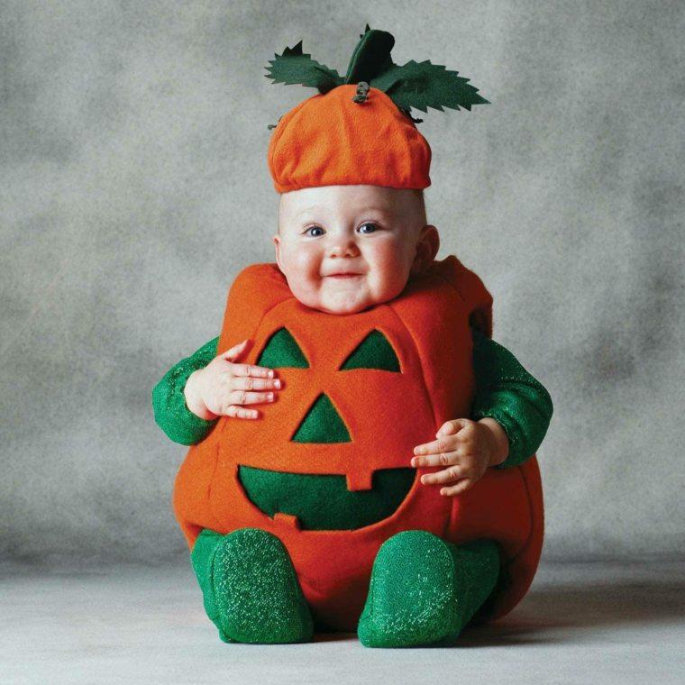 disfraces para bebés calabaza