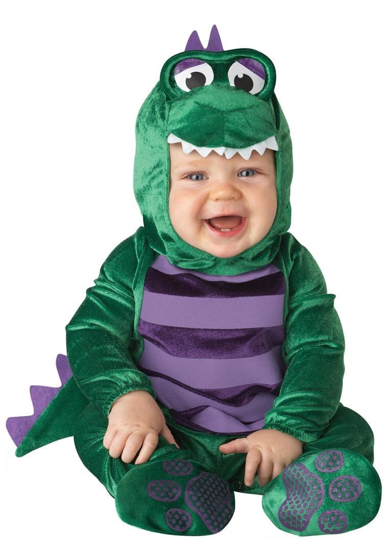 disfraces para bebs cocodrilo