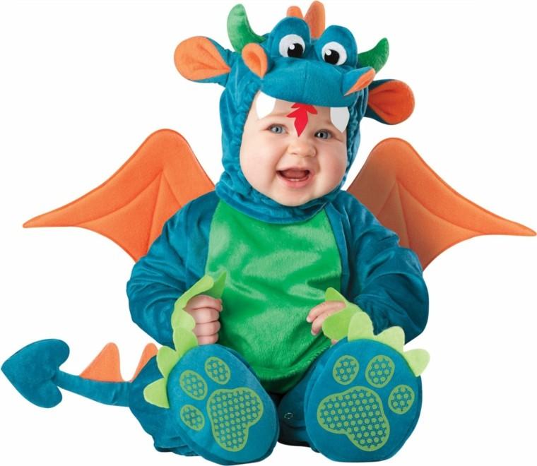 disfraces para bebs dinosaurio