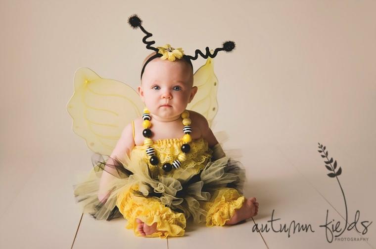 disfraces para bebs mariposa