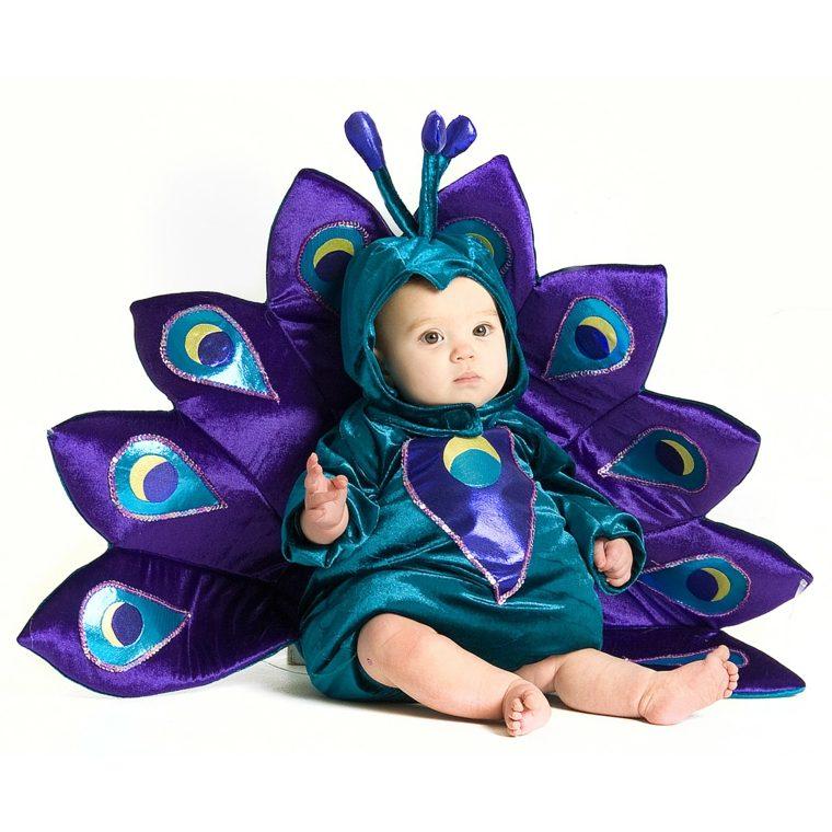disfraces para bebés pavo