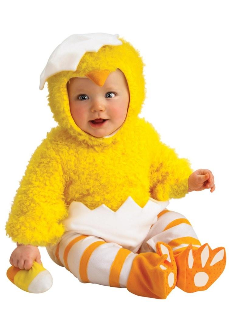disfraces para bebs pollo