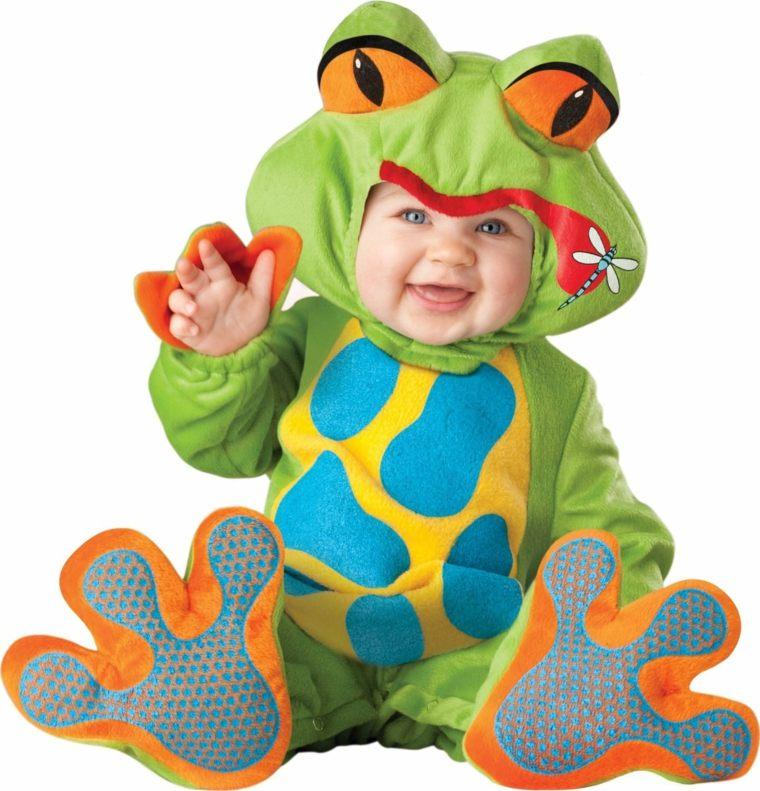 disfraces para bebés rana
