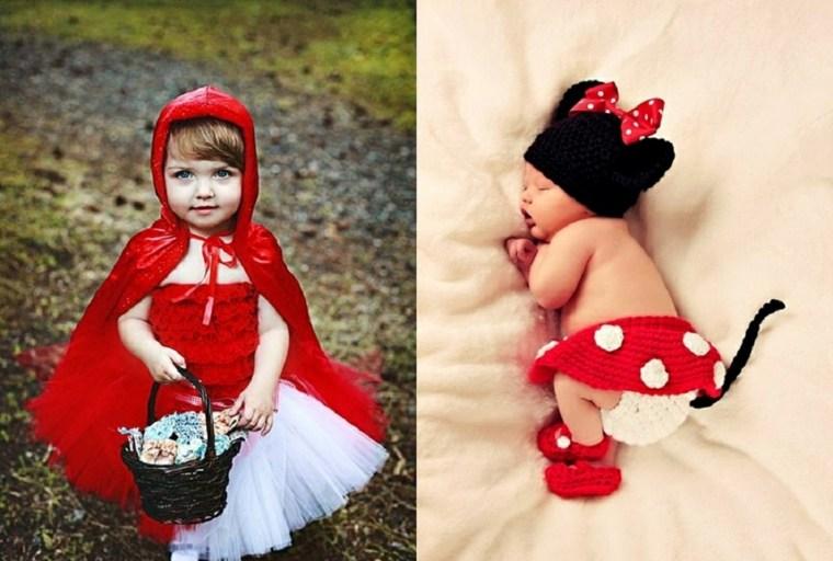 disfraces para bebés rojo