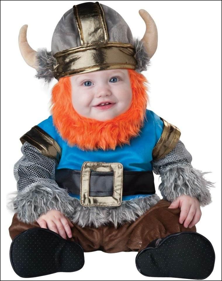 disfraces para bebés vikingo