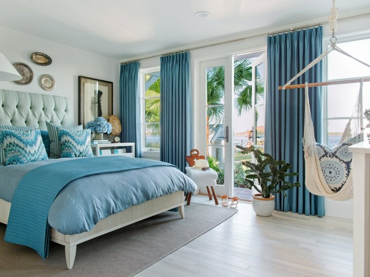 Dormitorios con encanto decoraci n y dise o original - Decoracion cuarto de estar ...