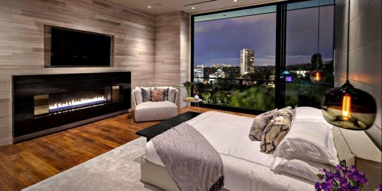dormitorios encanto decoracion residencia lujosa Los Angeles ideas