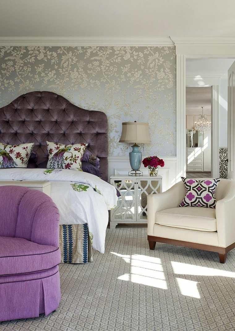 dormitorios encanto decoracion respaldo cama confortable