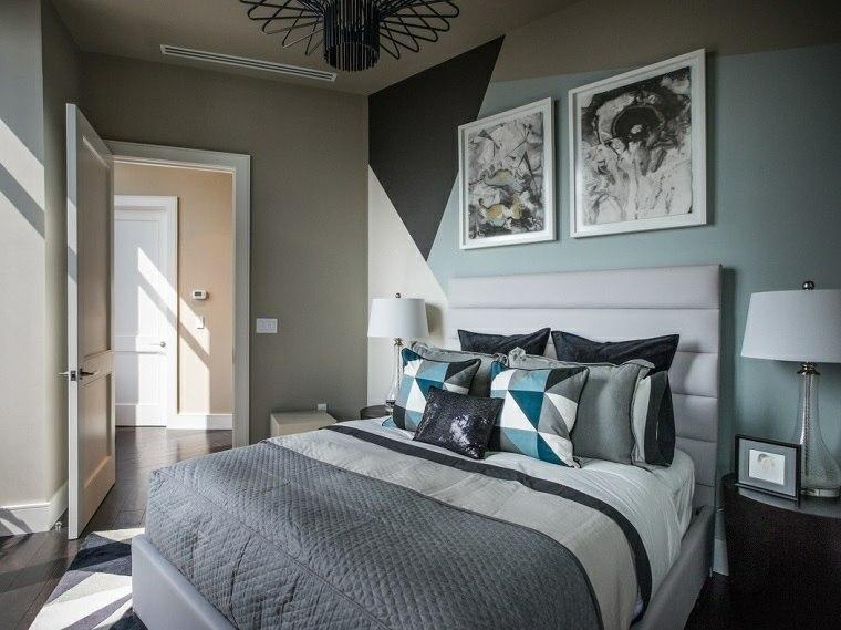 dormitorios encanto decoracion simple gris ideas