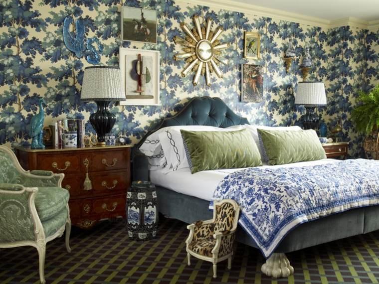dormitorios decoracion colorida diseno Alex Papachristidis ideas