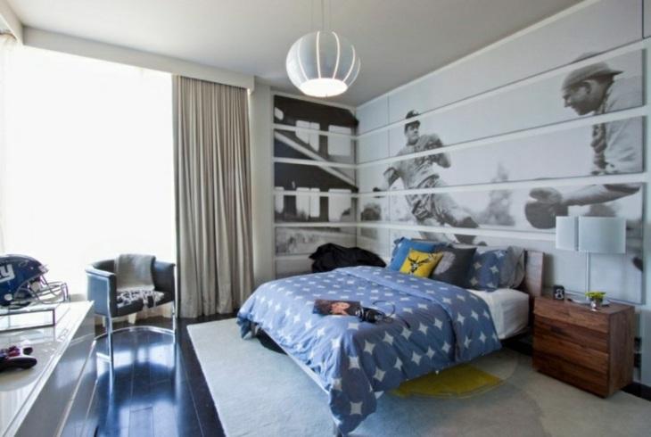 dormitorios juveniles beisbol paredes bases