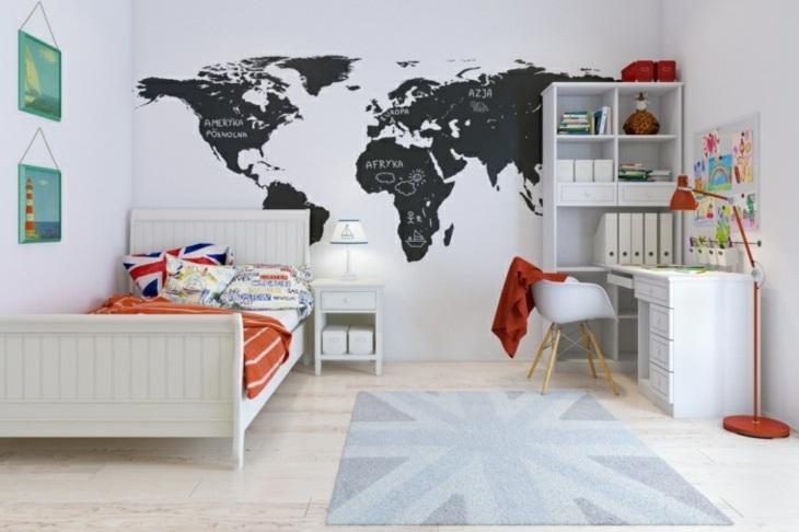 dormitorios juveniles mapa salones rojos