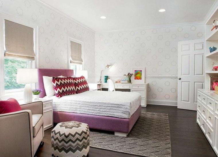 dormitorios juveniles modernos opciones decoracion amplio espacio ideas