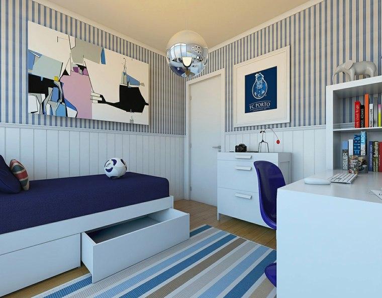 Dormitorios juveniles modernos con dise os que inspiran - Habitaciones juveniles para chico ...