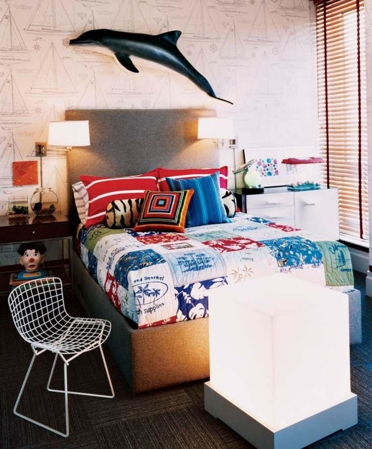 dormitorios juveniles modernos opciones decoracion diseno contemporaneo ideas