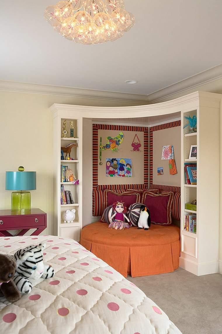 dormitorios juveniles modernos opciones decoracion lugar descanso esquina ideas