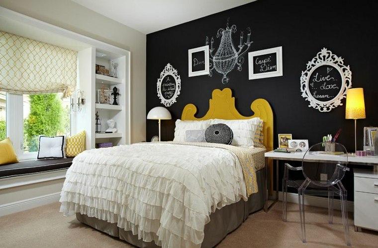 dormitorios juveniles modernos opciones decoracion marcos vacios ideas