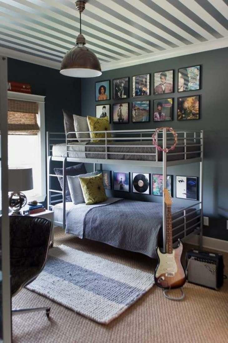 dormitorios juveniles musicales decorado compartida