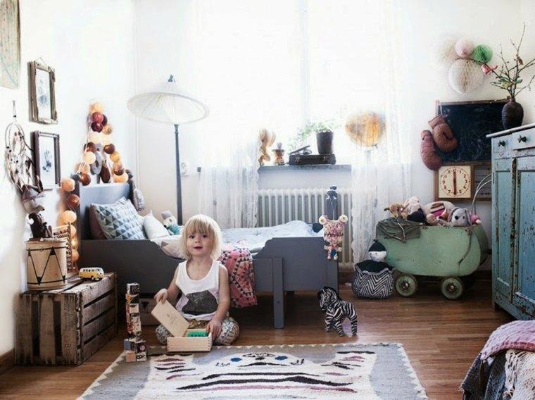 dormitorios para niños boho