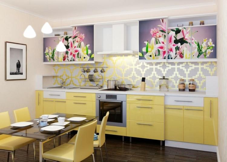 efectos color flores conceptos muebles