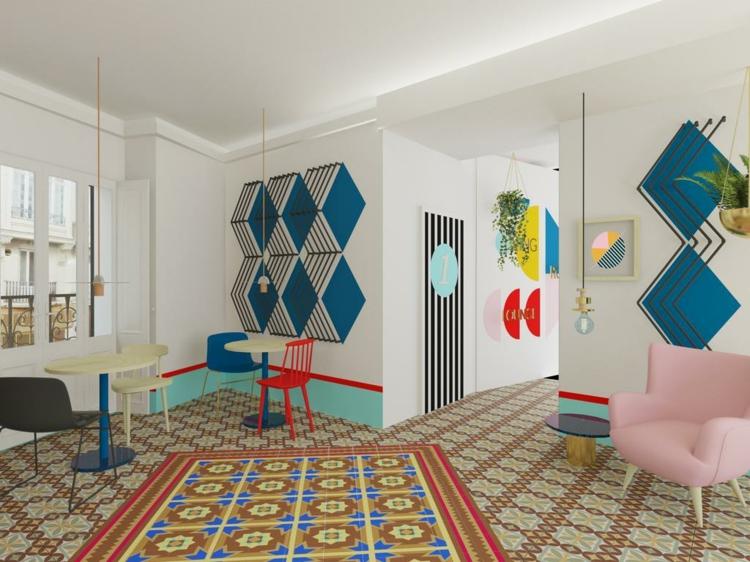 efectos colores estilos muebles comun